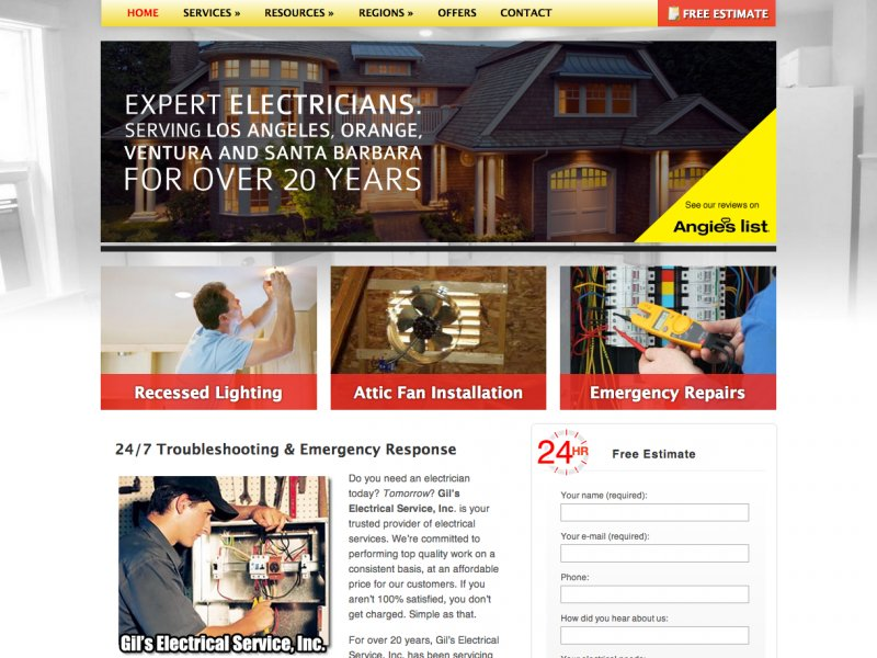 gils-electrical-service-website