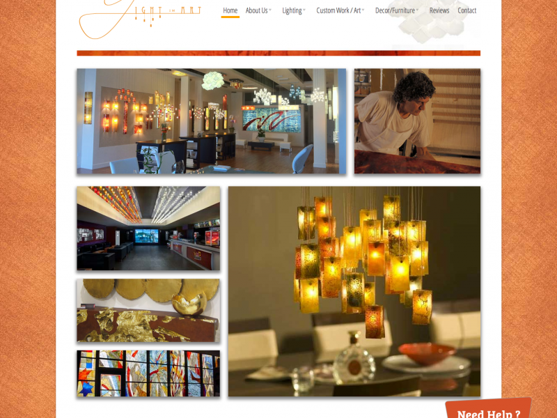 light-in-art-website