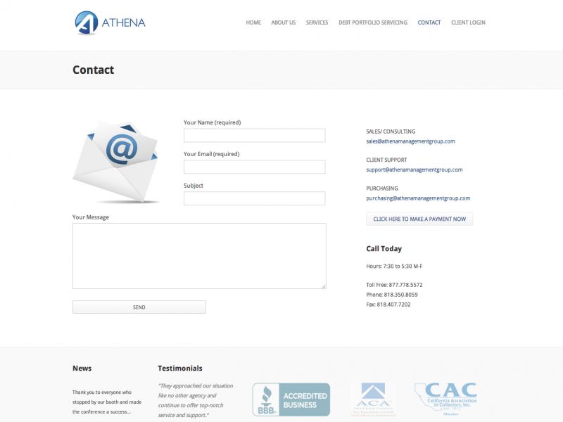 Contact   Athena Management GroupAthena Management Group (1)